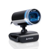 A4Tech PK-910 HD 1080P Webcam CMOS 30FPS Microfone embutido USB 2.0 Webcam HD Câmera para computador desktop Notebook PC