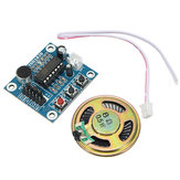 10pcs ISD1820 3-5V Voice Module Recording And Playback Module  Control Loop / Jog / Single Play Geekcreit for Arduino - products that work with official Arduino boards