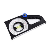 Multifunctional Meter Slope Gradient Instrument Inclinometer Angle Feet Foot Slope Measuring Ruler Magnetic Angle Finder Slope Horizontal Vertical Angle Bevel Protractor Declinometer