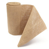 10mx30cm Burlap Table Runners Hessian Roll Fabric Jute Rustic Home Decorations