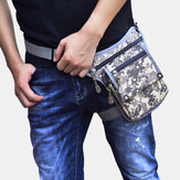 Men Nylon Camouflage Tactical Outdoor Sport Multifunction Waterproof Waist Bag Leg Bag Shoulder Bag For Riding
