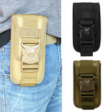Outdoor Camping Tactical etui na telefon komórkowy etui na pas Molle Belt Card Holder Pouch