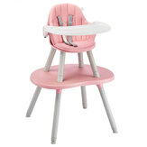 Children Dining Chair Convertible Table Mushroom Baby Eating Study Table And Chair Dual-Use Multifunctional Dining Chair Desk