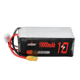 URUAV 22.2V 10000mAh 60C 6S Akumulator Lipo XT90 Wtyczka do RC Racing Drone