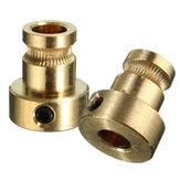 1.75mm/3mm Brass Feed Extruder Wheel Drive Gear For Reprap 3D Printer