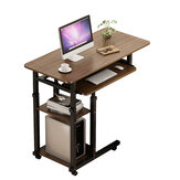 4 Layers Laptop Desk Table Adjustable Portable Notebook Computer Table Trolley Sofa Bed Tray Writing Study Desk for Home Office