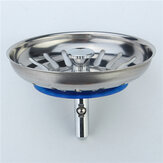 304 Stainless Steel Kitchen Sink Strainer Stopper Waste Plug Sink Filter