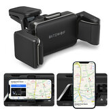 BlitzWolf BW-CF1 Universele 360° Rotatie Auto Air Vent Auto Memory Lock Mobiele Telefoon Houder Stand Beugel voor 66-90mm Breedte voor iPhone 12 POCO X3 NFC/POCO F3