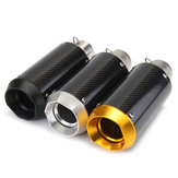 38-51mm 125-1200CC Motorcycle Slip-On Round Exhaust Muffler Carbon Fiber Sport