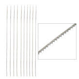 12pcs Saw Blade Hacksaw blade Woodworking Cutting Saw Blade for Adjustable Jewlery Saw Frame