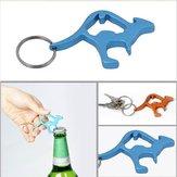Animais tampa de garrafa de cerveja canguru abridor conveniente keychain chaveiro