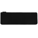 RGB Mouse Pad Anti-slip Rubber Soft Cloth Desktop Mouse Keyboard Mat for Home Gaming Office Work