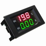 DANIU YB4835VA 0-100V 20A Dobbelt display Volt Meterr Current Meter Digital LED