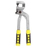 Alicates de quilla de aleación Perforadora de pernos para engarzadora de metal cerradura Paneles de yeso manuales herramientas