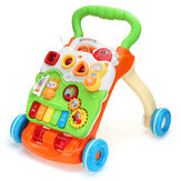 2 IN 1 Multifunctional ABS Baby Walker Safety Anti-skid Speed Adjustable with Water Filling Tank Educational Toy for Kids Gift