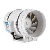 Ventilatore silenzioso da 8 pollici da 130 W con condotto di scarico idroponico in linea di scarico industriale