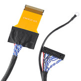51P 2CH 8-bit LVDS High Score 51 Pin FFC Screen Line For LG Left Power Supply 550MM LCD Driver Screen Cable
