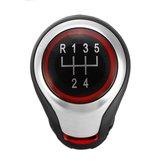 5 Speed Shift knop voor VW Golf MK5 MK6 MK7 Jetta EOS Scirroco