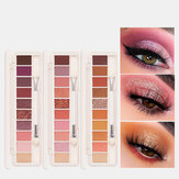Focallure 10 Colors Eyeshadow Palette Conceler Matte Shimmer Glitter Waterproof Eyeshadow Powder
