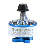 Sunnysky E-R2207 2207 1800KV 2580KV 3-4S Brushless Motor for RC Drone FPV Racing CW Screw Thread