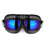 Occhiali Moto Occhiali Vintage Classic Occhiali Retro Pilot Cruiser Steampunk UV Protecti