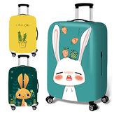 Honana Cute Cartoon Kaninchen elastisch Gepäck Cover Trolley Case Cover Durable Koffer Protector für 18-32 Zoll Case Warm Travel Zubehör