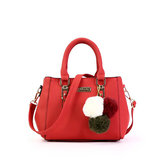 Women Faux Leather Fashion Shoulder Bag Handbag