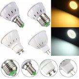 E27 E14 GU10 MR16 3,5 Watt 27 SMD 5730 Nicht Dimmbar LED Warmweiß Weiß Spot Lightt Lampe AC110 / 220 V