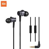 Original Xiaomi Earphone 3.5mm Earbuds Piston In-Ear Wired Control Deep Bass Earphone Headphone with Mic