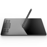 VEIKK A50 10x6 Inch Work Area Graphics Drawing Tablet  with 8 Hotkeys & Gesture Touch Pad 8192 Levels Battery-Free Pen for Mac PC