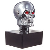 Car Chrome Skull Auto Manual Gear Stick Shift Knob Lever Universal