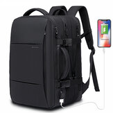 BANGE BG-1908 16'' 38L Expandable Large Capacity USB Tactical Backpack 15.6 inch Laptop Luggage Suitcase Bag Waterproof Camping Travel Rucksack
