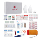 77 In 1 SOS Survival Tools Kit First Aid Emergency Kit Trauma Bag for Car Home Work Office Boat Camping Hiking Travel