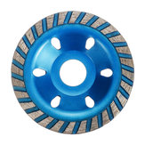 100mm Segment Diamond Grinding Wheel Abrasive Tools Disc Concrete Masonry Stone Blue