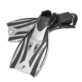 1 Pair Adjustable Swim Fins Flippers Snorkel Training Diving