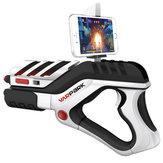 3D VR Juegos Interior de Juguetes Aumentados VR bluetooth AR Gun juego para el teléfono Monbile