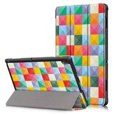 Dreifachgefaltetes Tablet-Deckblatt für Lenovo Tab E10 Tablet - Cubicity
