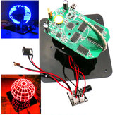 Geekcreit® DIY Spherical Rotating LED Kit POV Solda Training Kit