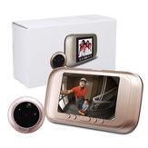3.5 pulgadas 720P Digital Door Bell Cámara Video Timbre de la mirilla Visor de zoom Zoom Grabadora