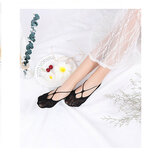 Invsible Low-Cut Ankle Socks Hollow Out Socks Cute Boat