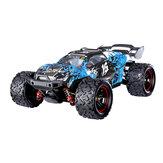 HS18421 18422 18423 1/18 senza spazzola Auto RC con diversi Batterie Fuoristrada ad alta velocità 60 km/h 2.4G 4WD 7.4V 1500mAh Controllo proporzionale completo Big Foot Impermeabile RTR Modelli di veicoli per bambini e adulti