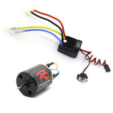 540 ضد للماء RC Car Motor 35/45/55 / 80T + 60A ESC ل 1/10 TRX4 D90 SCX10 RC Car Parts