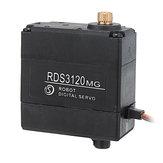 DSSERVO RDS3120MG 180 ° 22 kg Podwójne łożysko kulkowe Metal Gear Serwo cyfrowe dla DIY RC ramię robota