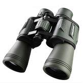 IPRee®20x50HDYüksekgüçlüBAK4 Dürbün Temizle Gece Görüş Optik Lens Su Geçirmez Teleskop