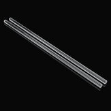 2Pcs 250mm Glass Stirring Mixing Rod Stirrer Mixer Sticks Rods Laboratory Experiment Glassware