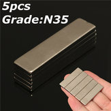 5pcs N35 40x10x3mm Strong Block Magnets Rare Earth Neodymium Magnets