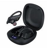 T11 TWS bluetooth 5.0 Słuchawki bezprzewodowe Słuchawki douszne Sport Wyświetlacz LED Zestaw słuchawkowy stereo dla iPhone Xiaomi Huawei