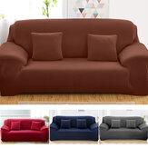 Capa elástica para sofá de 1/2/3 lugares Universal Pure Color Protetor de assento de cadeira Sofá Caso Capa extensível para móveis de escritório doméstico