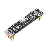 Teste de circuito 3.3V do módulo de fonte de alimentação da tábua de pão de YwRobot 5V comutável