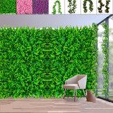 40x60 cm bricolage plante artificielle mur en plastique maison jardin TV fond boutique le centre commercial pour la décoration de la maison tapis vert gazon Jungle fête